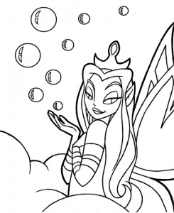 coloring page Neopets Feeenland (14)