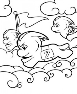 Dibujo para colorear Neopets Feeenland (17)