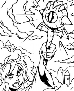 coloring page Neopets Feeenland (2)