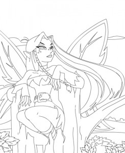 coloring page Neopets Feeenland (20)