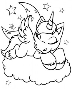 coloring page Neopets Feeenland (7)