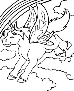 coloring page Neopets Feeenland (8)