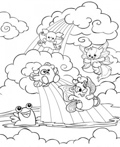 coloring page Neopets Feeenland (9)