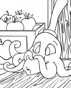 coloring page Neopets Krawk Island (1)
