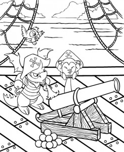 coloring page Neopets Krawk Island (10)