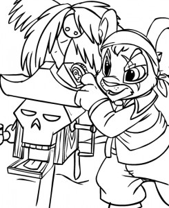 coloring page Neopets Krawk Island (3)