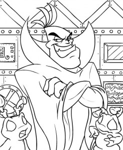 coloring page Neopets Kreludor (15)