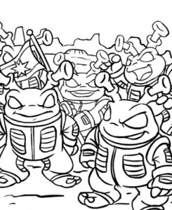 coloring page Neopets Kreludor (19)