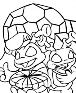 coloring page Neopets Kreludor (20)