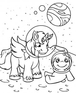 coloring page Neopets Kreludor (3)