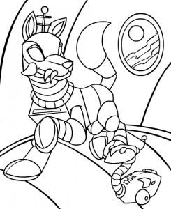 Disegno da colorare Neopets Kreludor (7)