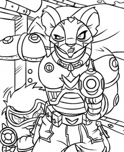 coloring page Neopets Kreludor (9)