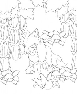 coloring page Neopets forhistorie (11)