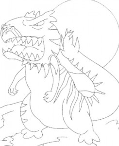 coloring page Neopets Tyrannia (12)