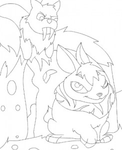 coloring page Neopets Tyrannia (15)