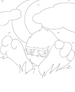 coloring page Neopets Tyrannia (16)
