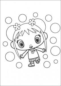 coloring page Ni hao Kai Lan (1)