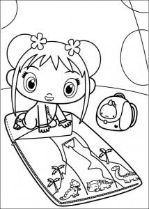 coloring page Ni hao Kai Lan (10)