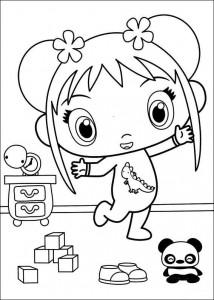 kleurplaat Ni hao Kai Lan (11)