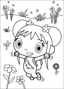 kleurplaat Ni hao Kai Lan (13)