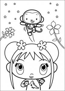 coloring page Ni hao Kai Lan (14)