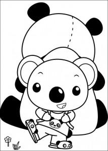 kleurplaat Ni hao Kai Lan (15)