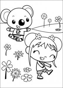 kleurplaat Ni hao Kai Lan (18)