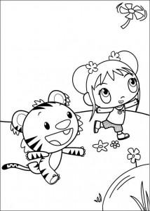 kleurplaat Ni hao Kai Lan (19)