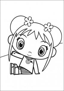 coloring page Ni hao Kai Lan (2)