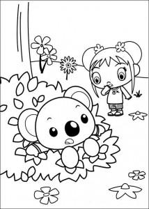 kleurplaat Ni hao Kai Lan (21)
