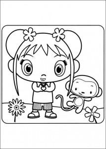coloring page Ni hao Kai Lan (22)