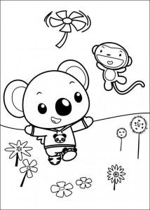 kleurplaat Ni hao Kai Lan (26)