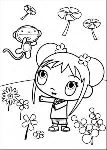 coloring page Ni hao Kai Lan (27)