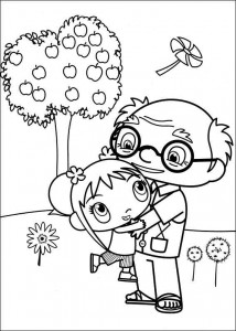 coloring page Ni hao Kai Lan (28)
