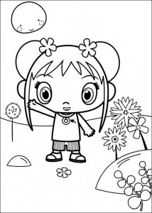 kleurplaat Ni hao Kai Lan (29)
