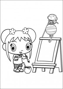 målarbok Ni hao Kai Lan (30)