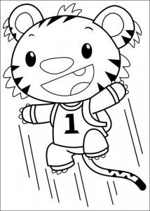 coloring page Ni hao Kai Lan (4)
