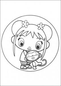 coloring page Ni hao Kai Lan (41)