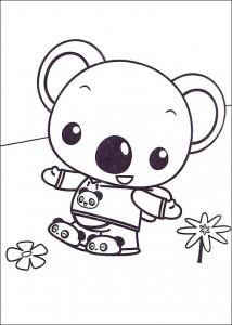 coloring page Ni hao Kai Lan (42)