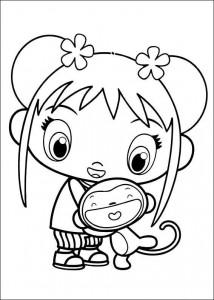 coloring page Ni hao Kai Lan (45)