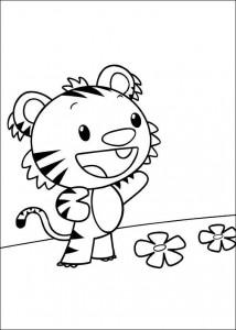 coloring page Ni hao Kai Lan (46)