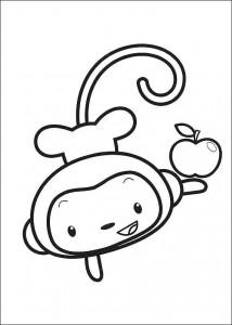 coloring page Ni hao Kai Lan (47)
