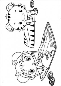 coloring page Ni hao Kai Lan (7)
