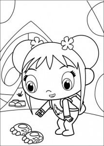 coloring page Ni hao Kai Lan (8)