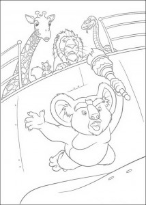 coloring page Nigel (1)