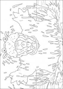 målarbok Flodhäst (1)