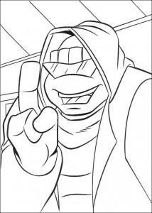 disegno da colorare Tartarughe Ninja (11)