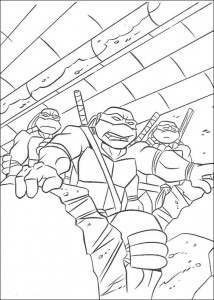 coloring page Ninja Turtles (12)