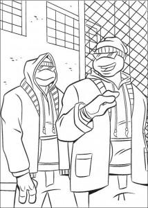 disegno da colorare Tartarughe Ninja (15)