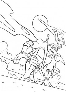 coloring page Ninja Turtles (17)